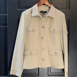 Peck & Peck khaki jacket